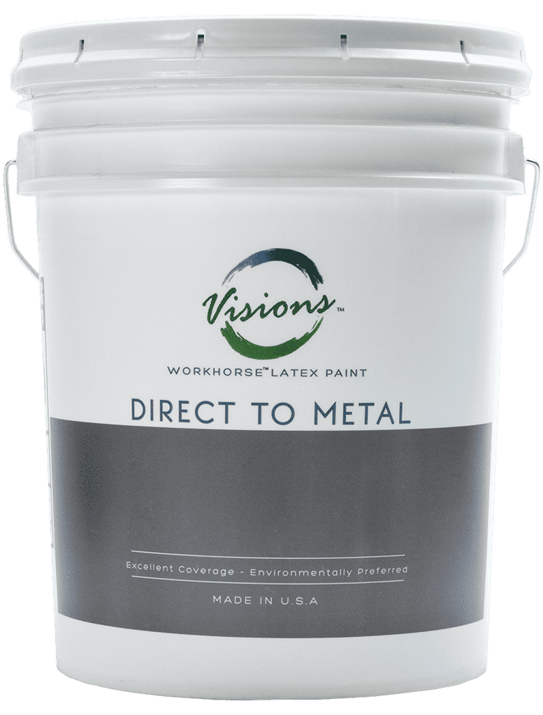 Direct to metal 5 gallon paint bucket